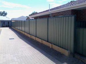 Colorbond fencing Canberra